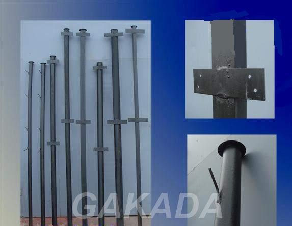 Столбы металлические забора с доставкой по области,  Краснодар
