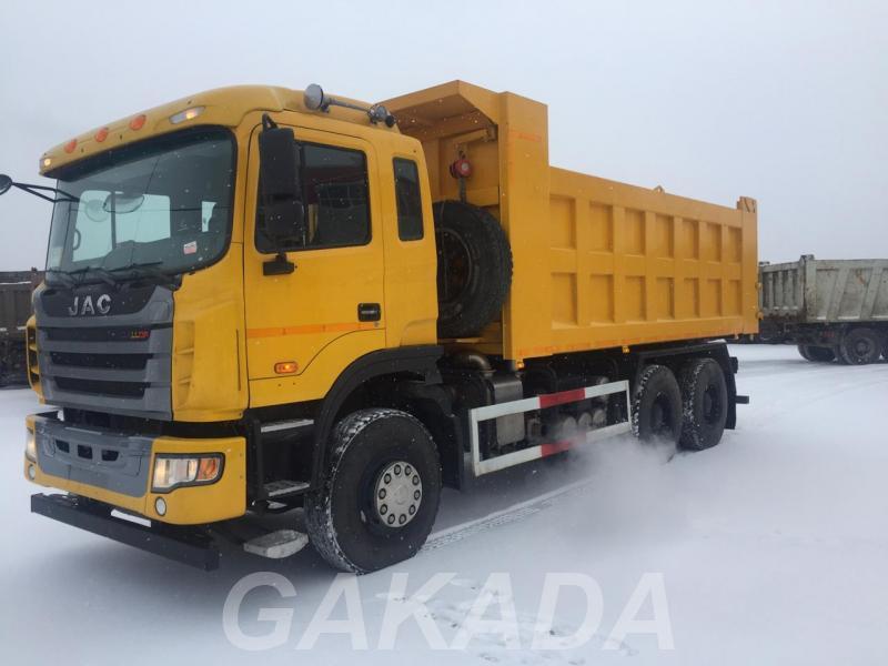 Самосвал JAC N350 6х4 Euro V, Вся Россия