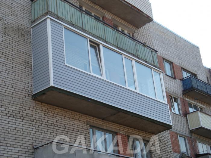 Профессиональная обшивка балконов и лоджий,  Санкт-Петербург