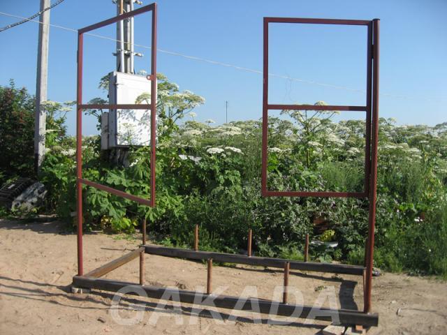 Садовые металлические ворота, Батецкий