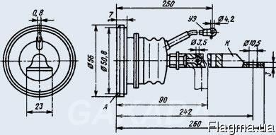 Тиристор Т15-250-7, Вся Россия
