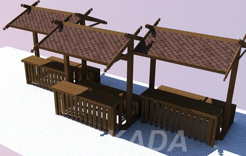 Ярмарочный лоток строительство и монтаж, Вся Россия