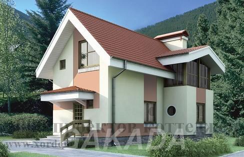 Строительство двухэтажного дома из кирпича 6x9,1,  Москва