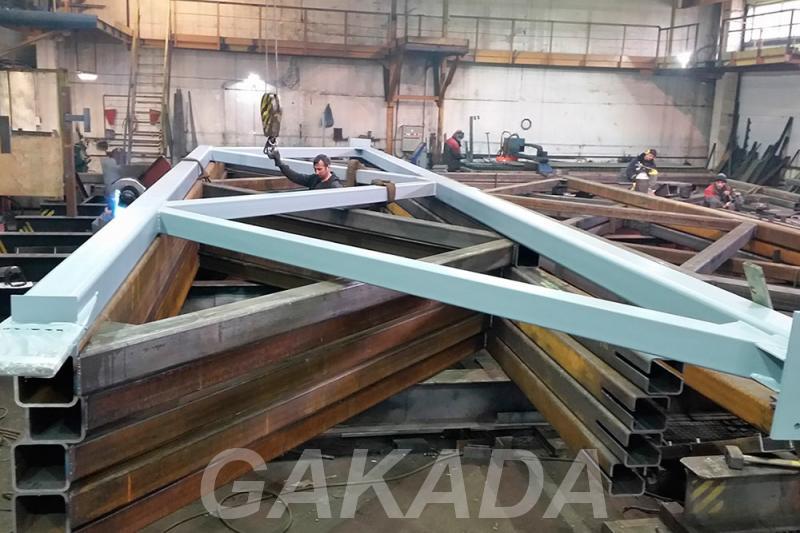 Производство монтаж и демонтаж металлоконструкций в Крыму, Севастополь