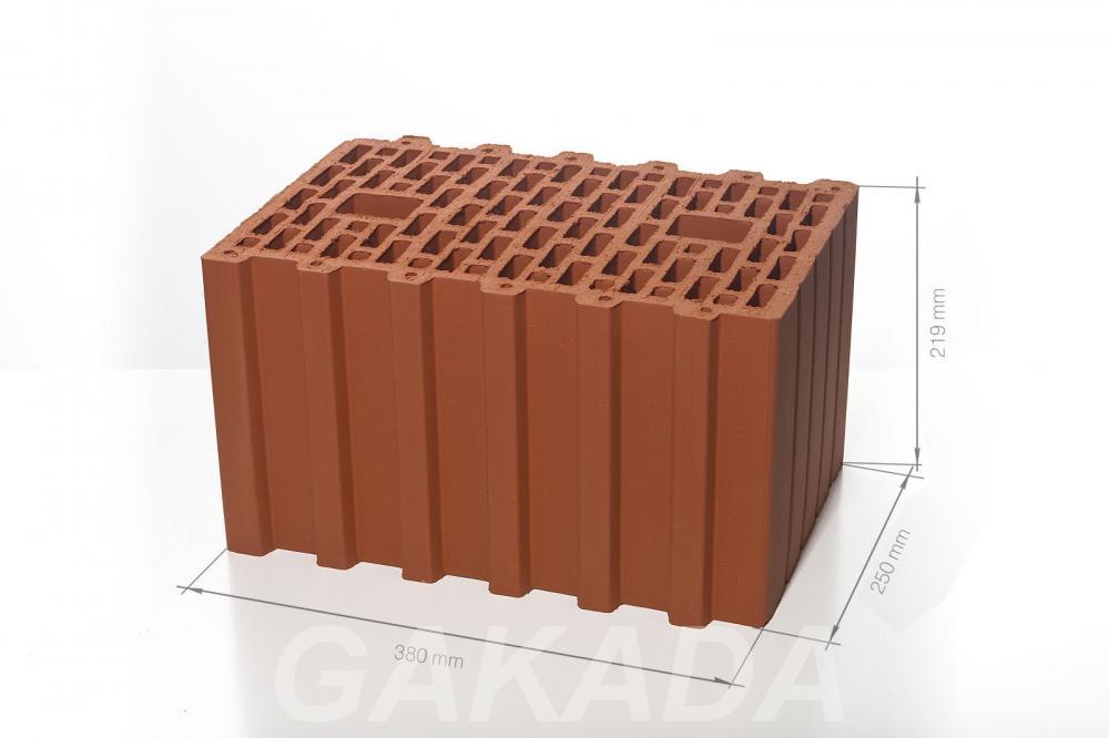Керамические поризованные блоки BRAER 380х250х219, Старый Оскол
