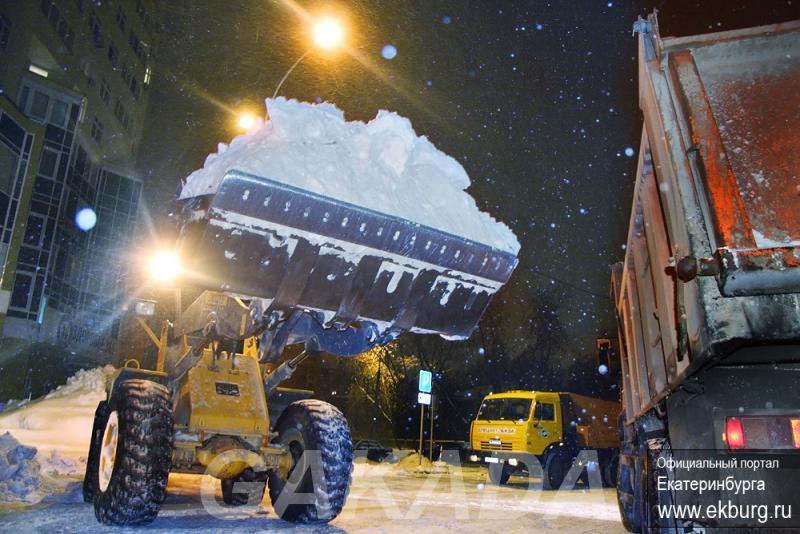 Вывоз снега уборка и очистка снега,  Уфа