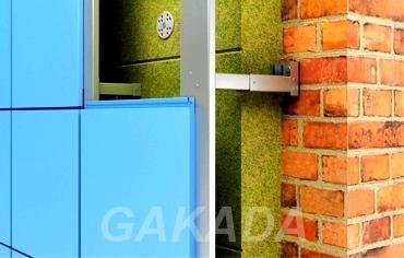 Металлокассеты фасадные крашенные, Вся Россия