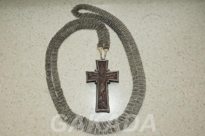 Наперсный протоиерейский игуменский постовой крест,  Санкт-Петербург