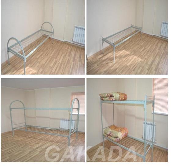 металлические кровати эконом-класса армейского образца, Климовск
