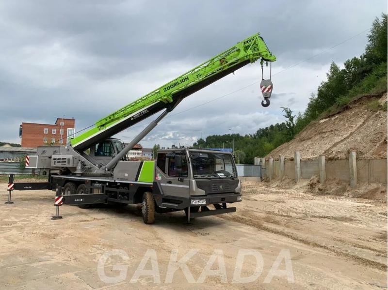 Автокран Zoomlion QY25V 6х4 Euro V, Вся Россия