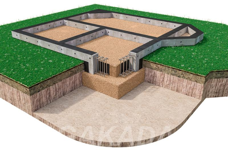 Фундаментные работы строительство фундаментов недорого,  Тверь
