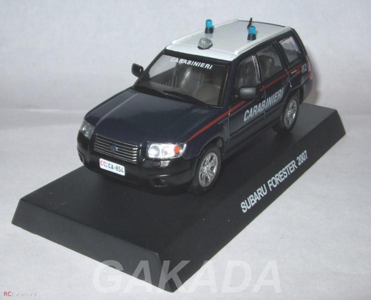 Полицейские машины мира спец выпуск 3 SUBARU FORESTER 2007,  Липецк