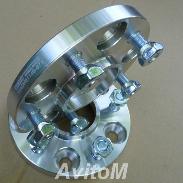 Проставки для колес Форд 15-20-25мм от Вектор, Вся Россия