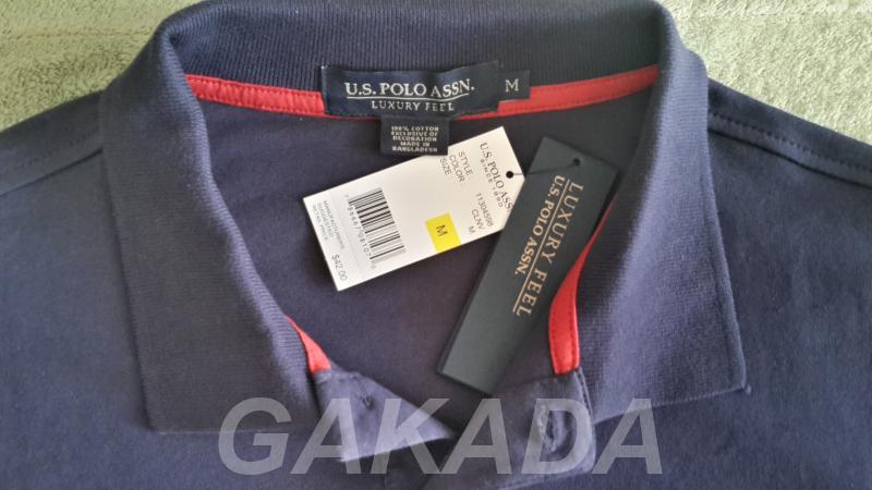 Мужская футболка Polo U S ASSN оригинал, Вся Россия