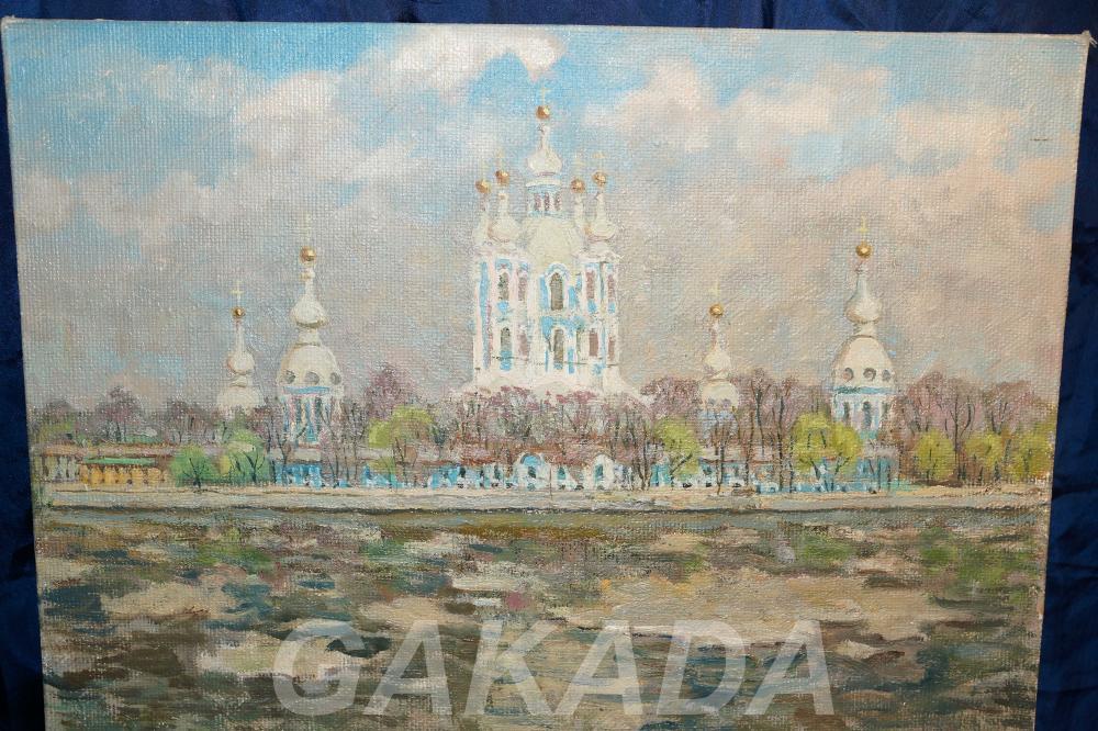 Вид на Крюков канал и Никольский Морской собор, Вся Россия