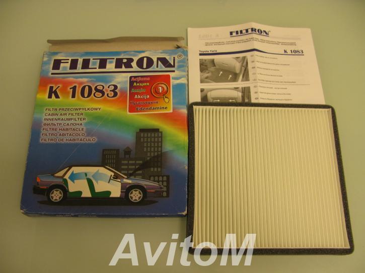 Продается фильтр салона Filtron для Subaru Toyota,  Москва