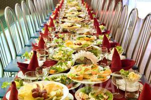 Комплектуем свадьбы торжества продуктами питания,  Новосибирск