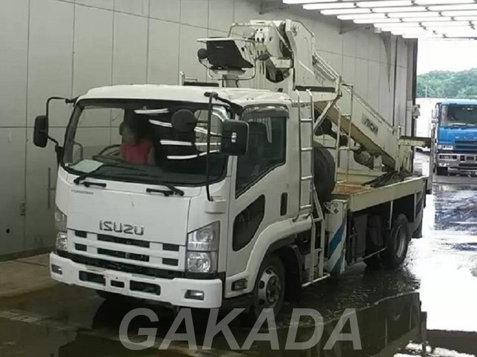 Isuzu Forward кран ямобур, Вся Россия