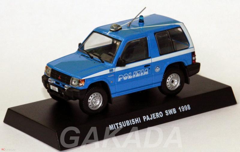 Полицейские машины мира спец выпуск 4 MITSUBISHI PAJERO 19,  Липецк
