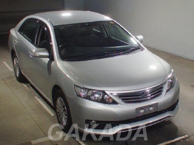 Toyota Allion седан цвет серебристый, бензин, Вся Россия