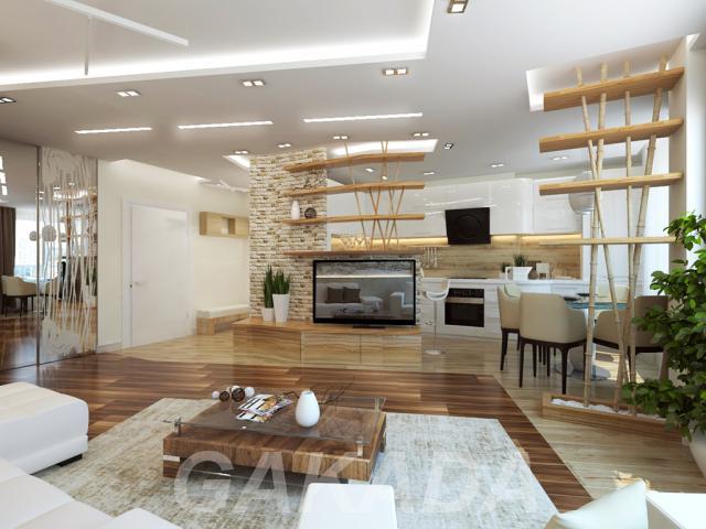 Дизайн интерьера квартир,  Москва