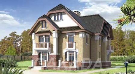 Кирпичный дом 11,5 х 13. Площадью 197,7 м2,  Москва