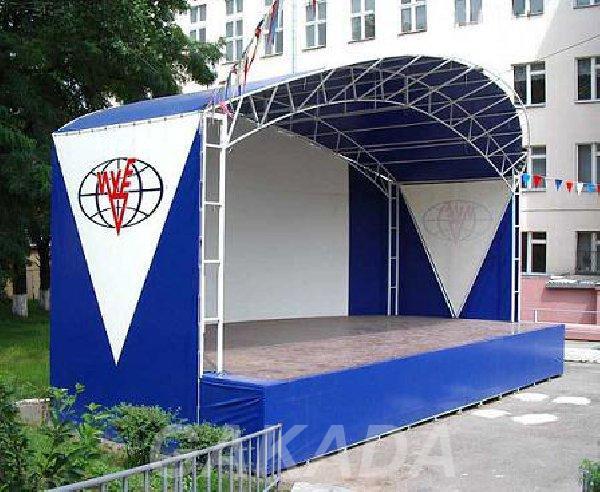 Уличные сборно разборные металлоконструкци,  Кострома