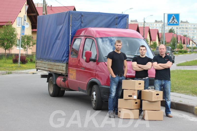 Квартирный переезд бригада сильных русских грузчиков,  Санкт-Петербург