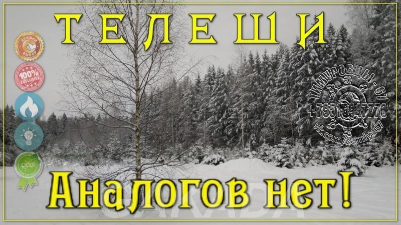 Лучшие участки в Смоленском районе Телеши от 13 соток ИЖС,  Смоленск