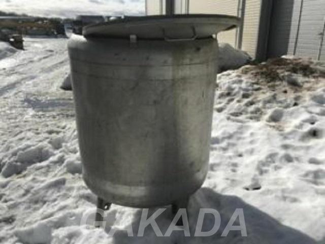 Емкость нержавеющая объем 0 8 куб м вертикальная, Вся Россия