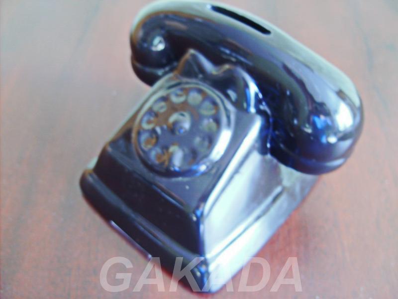 Копилка из доломитовой керамики Телефон, Вся Россия