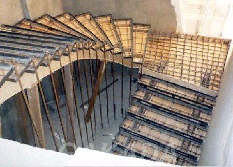 Заливаем бетонную лестницу любой сложности, Вся Россия