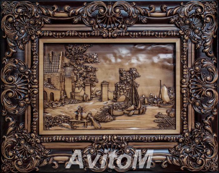 Картины, панно, иконы из дерева, Армавир