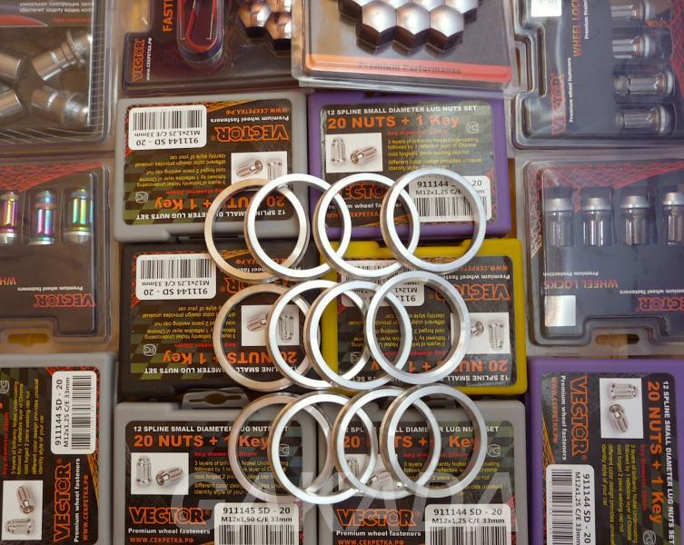 Кольца для дисков на ступицу Субару, Вся Россия