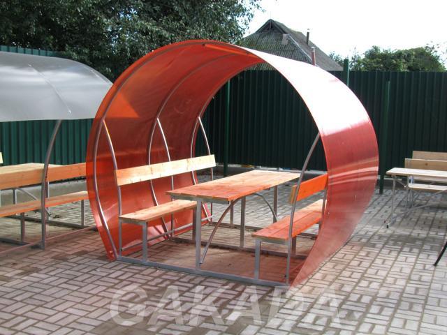 Беседки для дачи и сада с поликарбонатом,  Иваново