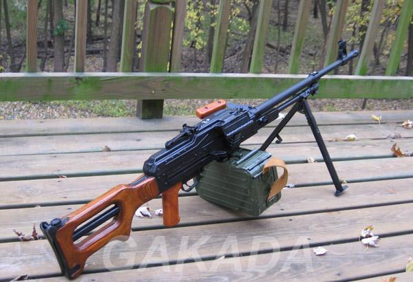 Макет массо-габаритный пулемета Калашникова ПК, Вся Россия