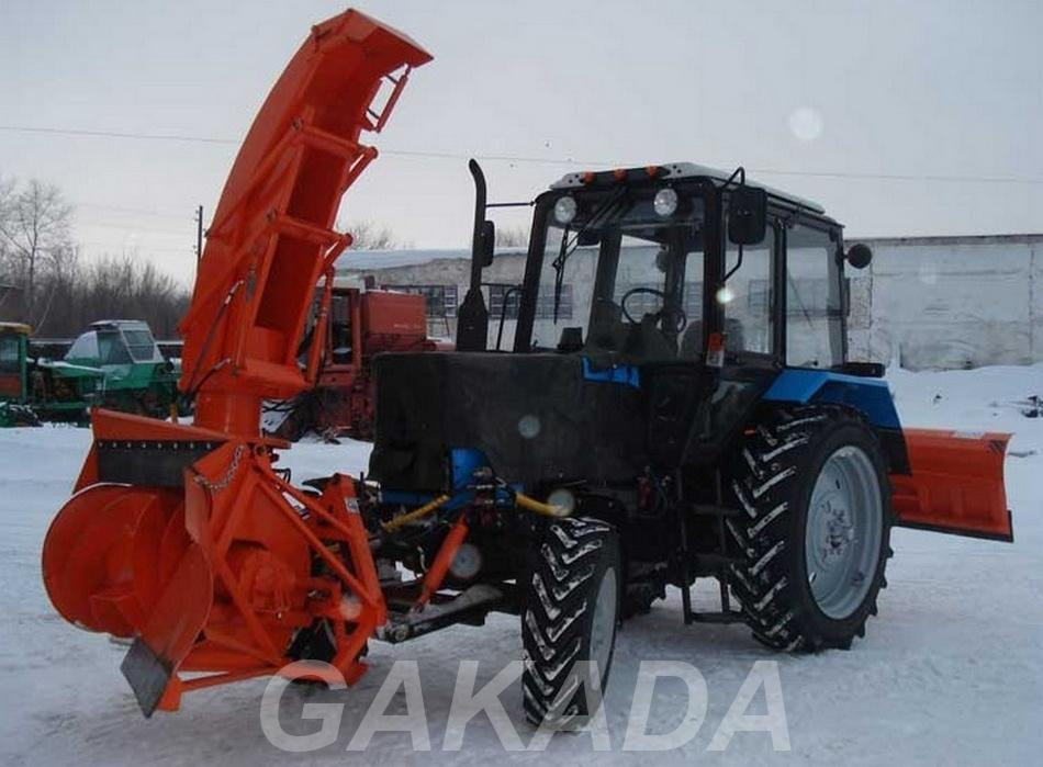 Снегоуборочная машина высокой производительности, Вся Россия