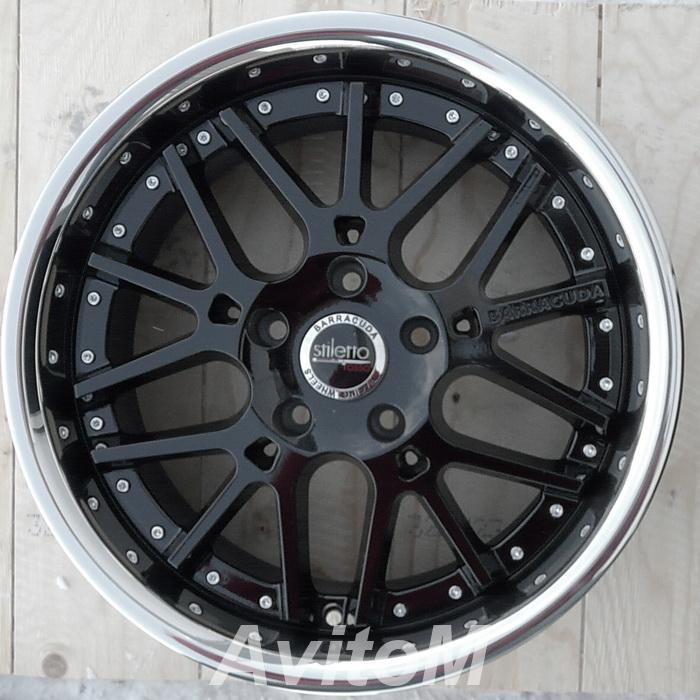 Barracuda Stiletto Rosso R18 новые диски 5-120мм,  Москва