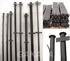 Столбы металлические для заборов,  Санкт-Петербург