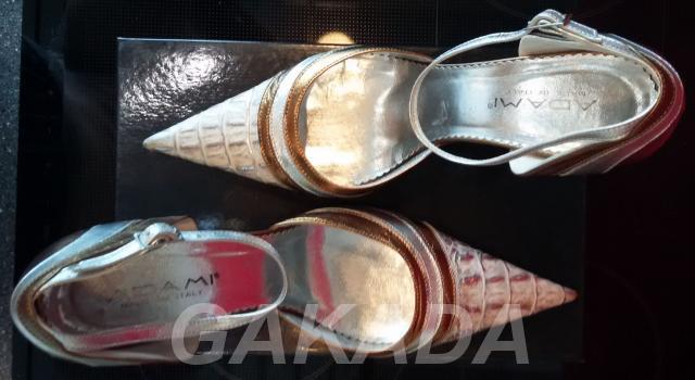 Итальянские туфли-босоножки ADAMI CARLO PAZOLINI,  Санкт-Петербург