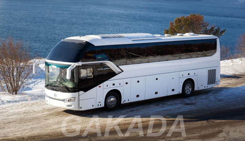 Туристический автобус Golden Dragon XML 6126 JR Triumph, Вся Россия