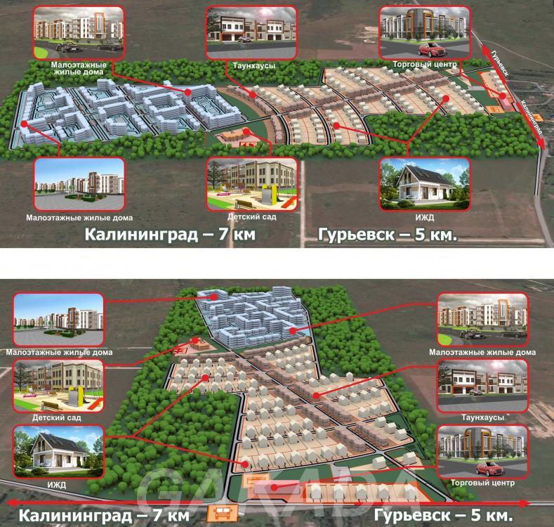 Участки под ИЖС,  Калининград