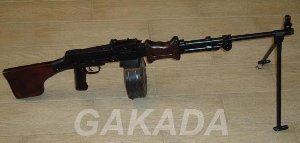 Макет массо-габаритный пулемета Дегтярёва РПД-44, Вся Россия