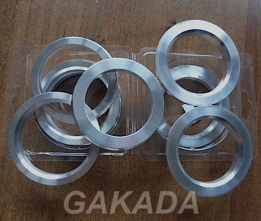 Центровочные кольца 73,1-56,1 алюминий от Вектор, Вся Россия