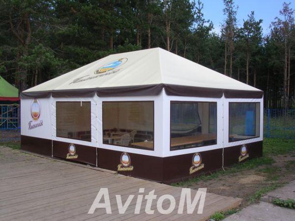 Торговые палатки павильоны каркасно тентовые,  Краснодар