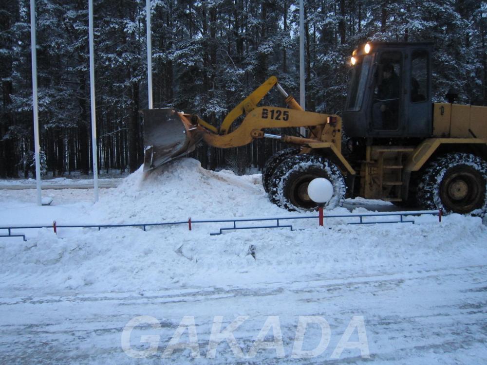 Уборка и Вывоз снега, Вся Россия