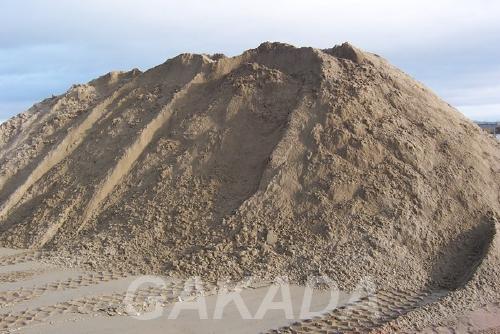 Песок строительный с доставкой,  Краснодар