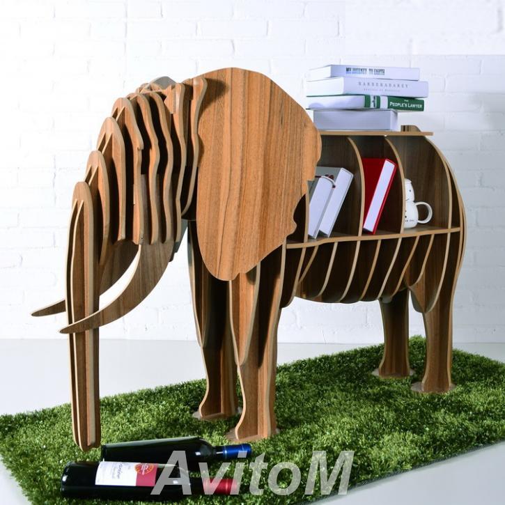 Журнальный столик Слон украшение интерьера,  Тюмень