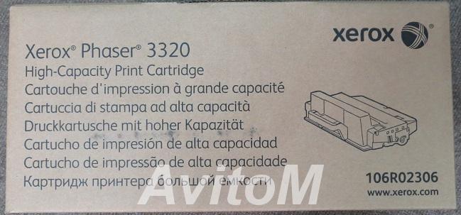 Оригинальный картридж Xerox 106R02306,  Москва