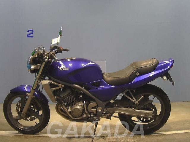мотоцикл дорожный Kawasaki balius, Вся Россия